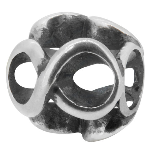 Authentic ZABLE INFINITY .925 Silver Bead Charm BZ2285 FITS PANDORA CHAMILIA BIAGI OHM TROLL CHARMED