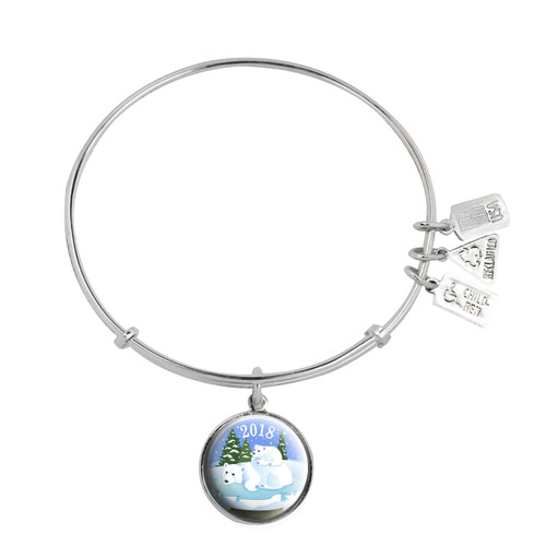 Wind and Fire christmas 2018 limited edition charm bangle. These are compatible with Alex and Ani.