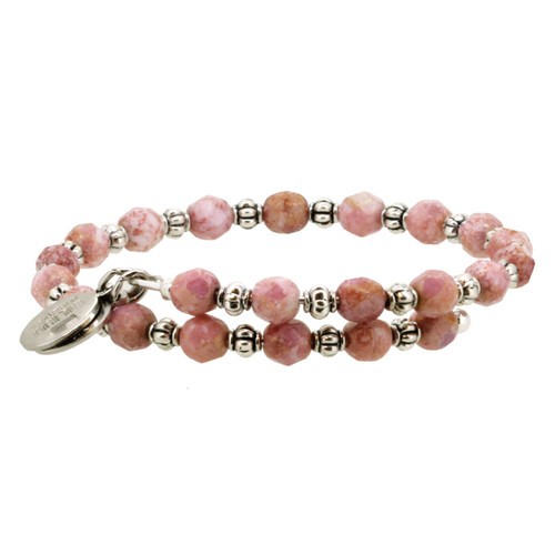 Wind and Fire Almost Mauve Gemstone Wrap WF-818