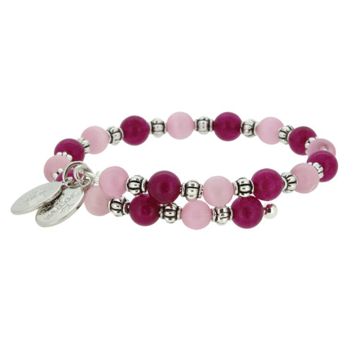 Wind and Fire Pink Lady Gemstone Wrap WF-856