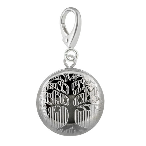 Zable Family Tree Locket Charm LC-418 fits Pandora, Chamilia, Biagi, Be Charmed, etc