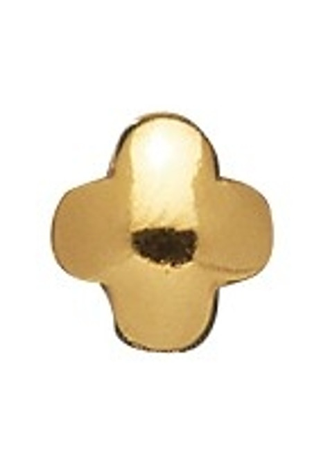 LOVELINKS 4-Leaf Clover 14k Gold Plated Bead Charm