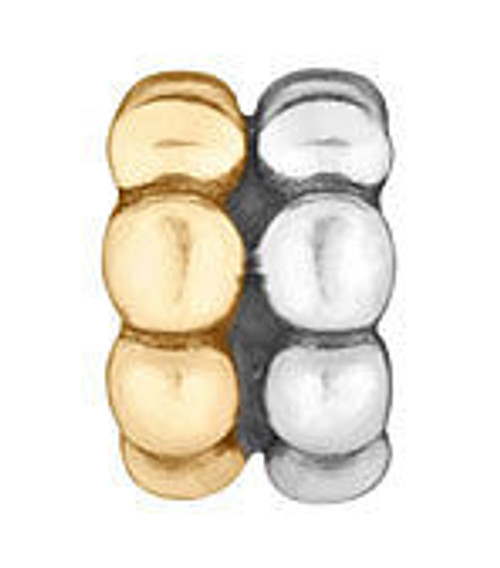 LOVELINKS Beaded 2-Tone Bead Charm