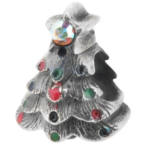 Zable bead charm Christmas Tree, fits Pandora, compatible with Pandora