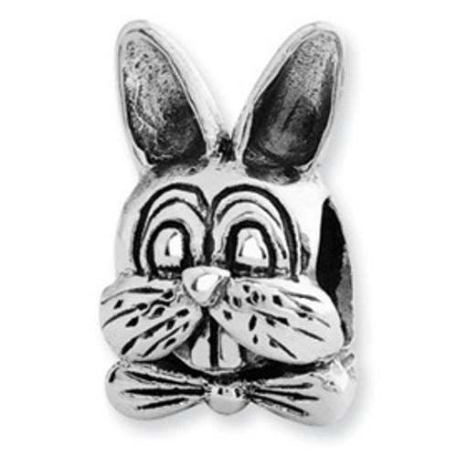 REFLECTIONS Easter Bunny Rabbit Bead Charm QRS1428