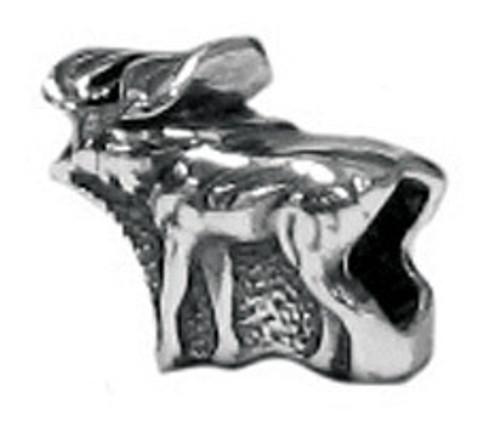 ZABLE Moose Silver Bead Charm BZ-1957