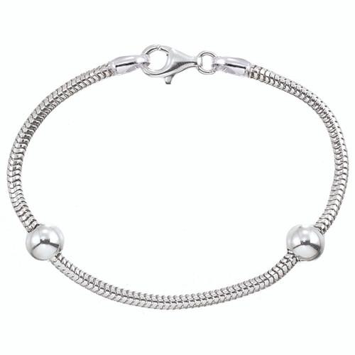 ZABLE Smart Starter Bracelet & 2 Stopper Beads