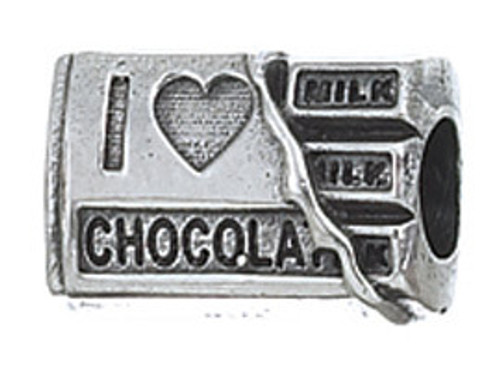ZABLE I Love Chocolate Bead Charm BZ-2110