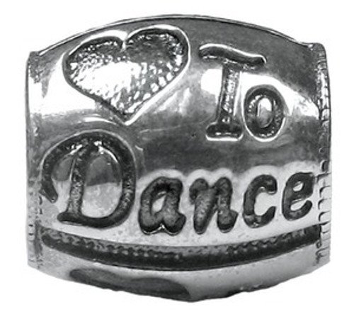 ZABLE Love to Dance Bead Charm BZ-1737
