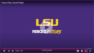 LSU Spotlights Fluker's Fierce Flies