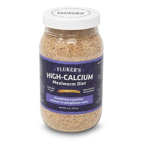 High-Calcium Mealworm Diet