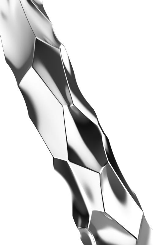 La Sagrada in Chrome Handle, View 3