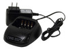 Desk stand battery charger base and transformer for CS750/751, CS700/701, and other CSI DMR Radios