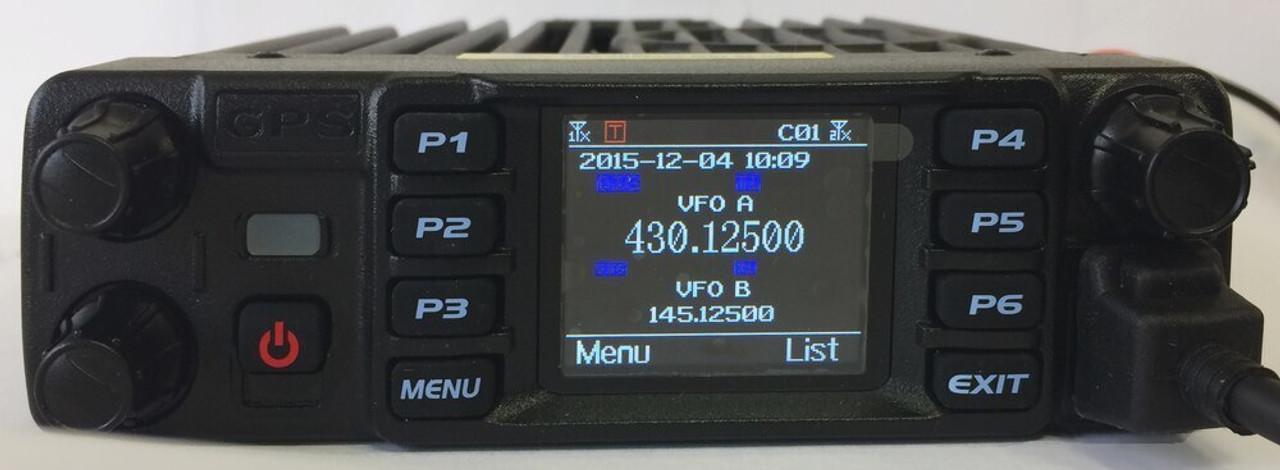 Used AT-D578UVIII PRO DMR Mobile Radio