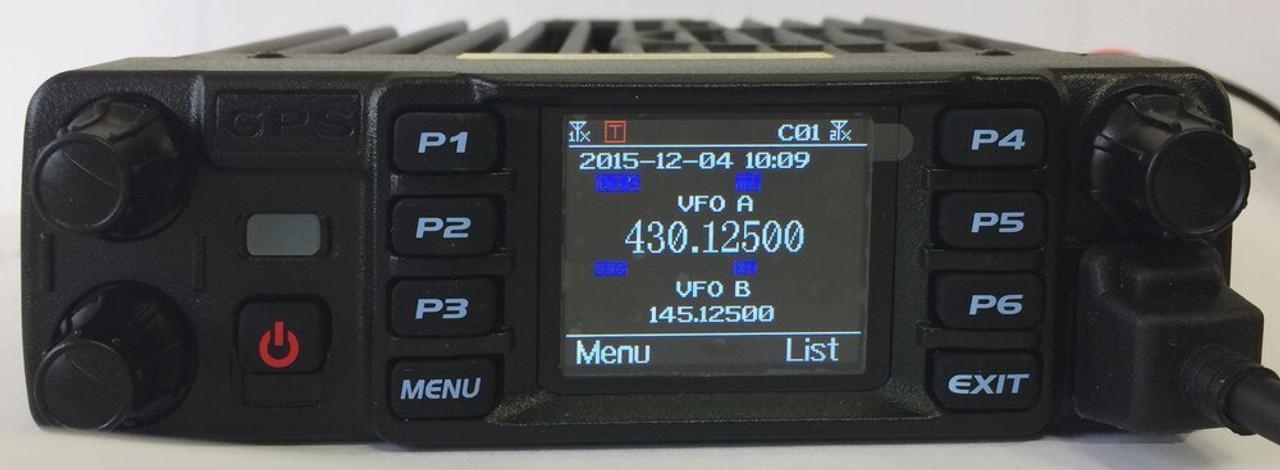 Used AT-D578UVIII BASIC DMR Mobile Radio