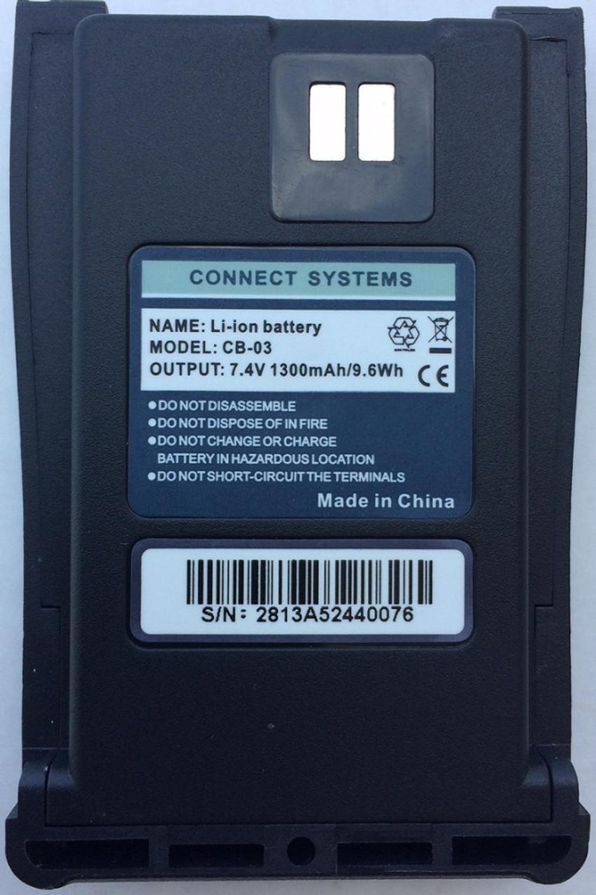 Battery for CS120D