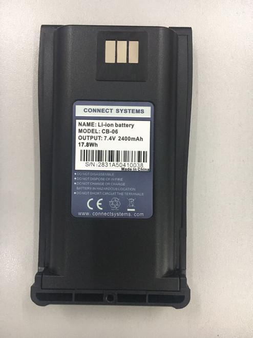 2400 mAh Battery for CS750 and CS700 Radio
