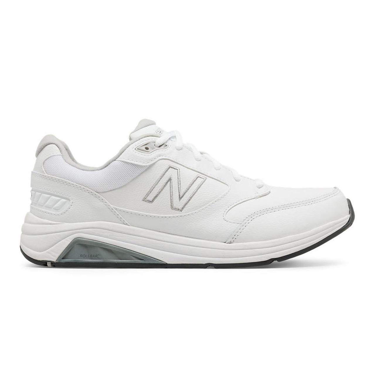 New Balance 928v3 Men's Walking - White Leather