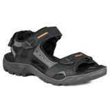 ECCO Men's Offroad Yucatan Sandal - Black / Mole / Black - 69564-50034 - Angle