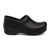 Dansko Women's Professional Clog - Black Cabrio (Wide Width) - 899-020202 - Profile 1