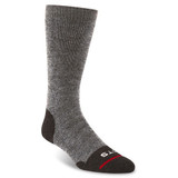 FITS Men's Medium Crew Hiker Socks - Brown