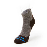 FITS Light Hiker Quarter Sock - Brown - F1003-200 - Main Image