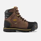 KEEN Men's Milwaukee Waterproof (Steel Toe) - Dark Earth - 1009174 - Profile