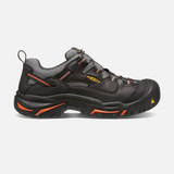 Keen Men's Braddock Low Steel Toe - Black / Bossa Nova - 1011244 - Profile