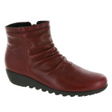 Munro Women's Riley Boot - Red Leather
