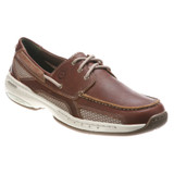Dunham Men's Captain - Brown WP leather - MCN410BR - Angle