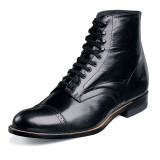 Stacy Adams Men's Madison Ankle Boot - Black
