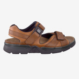 Mephisto Men's Shark - Chestnut Waxy / Tan Grain - SHARK5778 - Profile