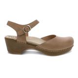 Dansko Women's Sam - Sand Dollar Full Grain Leather - 9840-372200 - Profile 1
