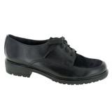 Munro Women's Veranda - Black Leather / Black Suede