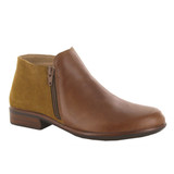 Naot Women's Helm - Maple Brown Leather / Desert Suede - 26030-SAC - Angle