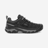 KEEN Men's Targhee EXP Waterproof - Black with Steel Grey - 1017721 - Profile