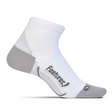 Feetures Plantar Fasciitis Relief Sock - White - PF2500 - Profile