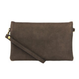 Joy Susan New Kate Crossbody Clutch - Charcoal - Profile