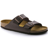 Birkenstock Arizona - Dark Brown (Narrow Width) - Angle