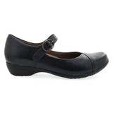 Dansko Women's Fawna - Navy Burnished Calf - 5501-550200 - Profile