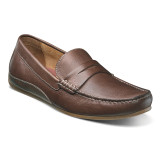 Florsheim Men's Oval Penny Driver - Cognac Smooth