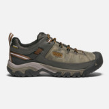 Keen Men's Targhee III Waterproof - Black Olive / Golden Brown - 1017784 - Profile
