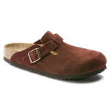 Birkenstock Boston Soft Footbed - Port Suede - 1011298 - Main Image