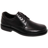 Drew Men's Park Oxford - Black Leather - 40991-14 - Angle