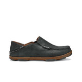 Olukai Men's Moloa - Black / Toffee - 10128-4033 - Profile.