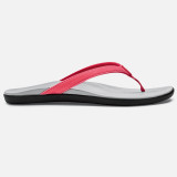 Olukai Women's Ho'opio Sandal - Guava Jelly / Pale Grey