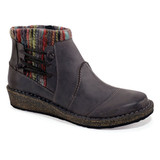 Aetrex Women's Tessa Ankle Boot - Charcoal (SD926) - main