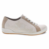 Dansko Women's Olisa - Sand Printed Canvas - 4710-030303 - Profile