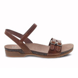 Dansko Women's Rebekah Sandal - Tan Waxy Burnished - 6021-150600 - Profile