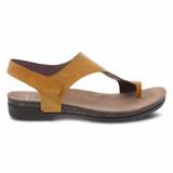 Dansko Women's Reece Sandal - Mango Waxy Burnished - 6024-465300 - Profile